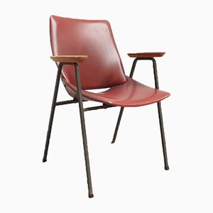Mid-Century Model Lupina Shell Armchair by Niko Kralj for Stol Kamnik