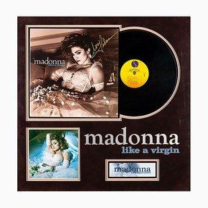 Signierte Madonna Schallplatte, 1980er