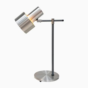 Lento Tischlampe aus Aluminium von Jo Hammerborg für Fog & Mørup, 1960er