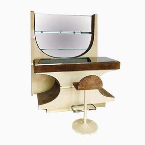 Mobilier de Bar Space Age, Italie, 1970s, Set de 3