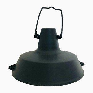 Industrielle italienische Lampe aus Eisen, 1970er