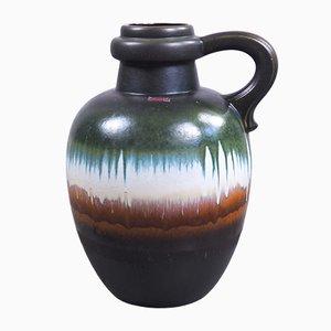 Große Fat Lava Vase aus Keramik von Scheurich, 1970er