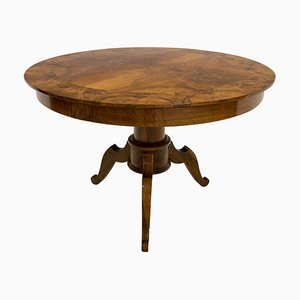 19th Century German Biedermeier Round Table