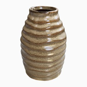 Glazed Stoneware Vase from SF, 1960s
