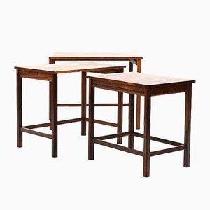 Tavolini ad incastro Mid-Century, Danimarca
