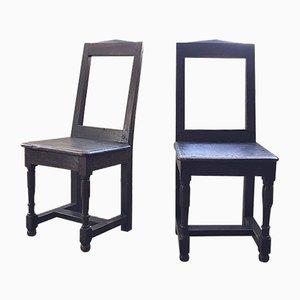 Französische Lorraine XVIII Stühle, 2er Set