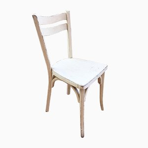 Weiße Stühle von Baumann, 1960er, 4er Set