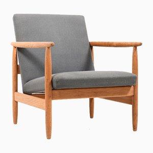 Dänischer Sessel von Ejvind Johansson für FDB, 1960er
