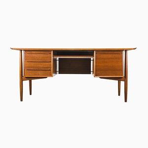 Chef-Schreibtisch aus Teak von Arne Vodder für H.P. Hansen, 1950er
