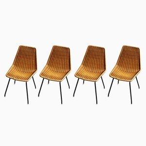 Chaises de Salle à Manger Vintage par Dirk van Sliedregt pour Rohé Noordwolde, Set de 4