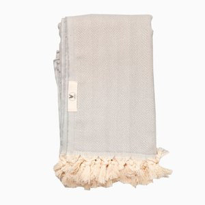 Grey Le Zig Anaplaid Blanket by Wild Heart Free Soul
