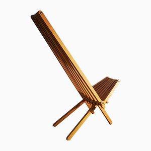 Chaise Pliante Y par Alexandre Iscar pour Les Ateliers Iscar