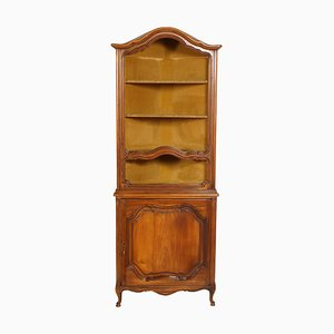 Antique Baroque Italian Corner Cupboard