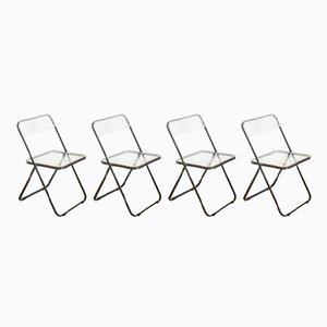 Spanish Folding Chairs from Stua, 1980s, Set of 4
