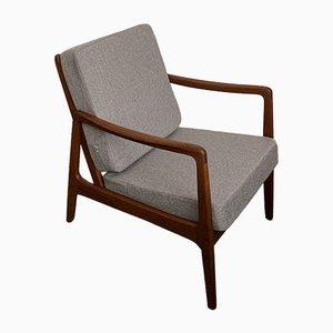 Modell FD109 Sessel mit Gestell aus Teak von Ole Wanscher für France & Søn, 1960er