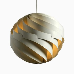 Danish Turbo Pendant by Louis Weisdorf for Lyfa, 1965