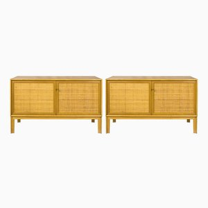 Norrland Sideboards by Alf Svensson for Bjästa Möbelfabrik, 1950s, Set of 2