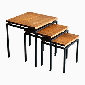 Vintage Wenge Nesting Tables