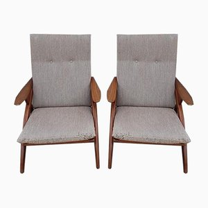 Scandinavian Lounge Chairs, 1963, Set of 2