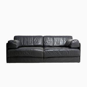 Vintage DS 76 Leder Sofa von de Sede