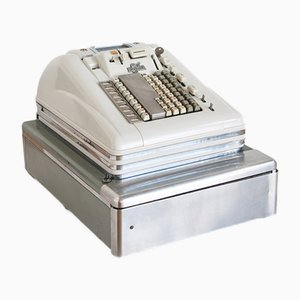 Vintage Norwegian Cash Register from Jorge S. Lien, 1950s