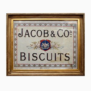 Antique Edwardian Jacob & Co's Biscuits Advertisement