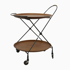 Swedish Bar Trolley from Åra Fanérprodukter Nybro, 1950s