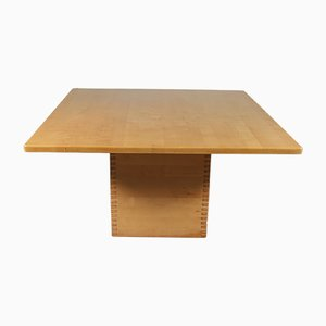 Square Pine Dining Table by Ate van Apeldoorn, 1960s
