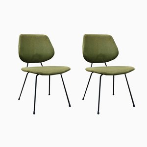 Kembo Chairs by W.H. Gispen for Kembo, 1950s, Set of 2