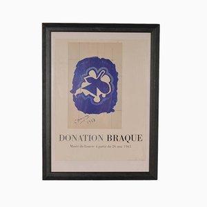 Litografía de Georges Braque para Mourlot, 1965