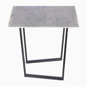 Table Basse Biover de Carrare Lithoverde Dritto par Piero Lissoni pour Salvatori