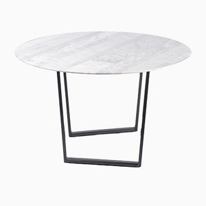 Bianco Carrara Lithoverde Dritto Coffee Table by Piero Lissoni for Salvatori