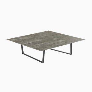 Table Basse Lithoverde Dritto Gris du Marais par Piero Lissoni pour Salvatori