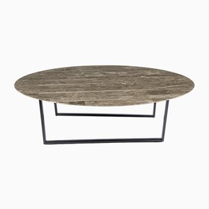 Gris du Marais Lithoverde Coffee Table by Piero Lissoni for Salvatori