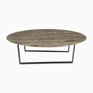 Table Basse Lithoverde Gris du Marais par Piero Lissoni pour Salvatori