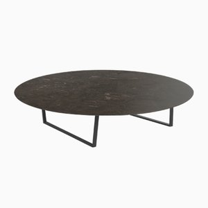 Table Basse Pietra d'Avola Dritto par Piero Lissoni pour Salvatori