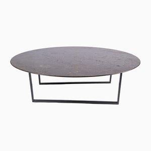 Tavolino da caffè Dritto in pietra d'Avola di Piero Lissoni per Salvatori