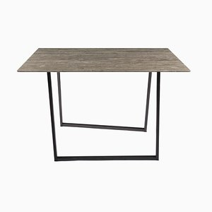 Gris du Marais Lithoverde Dritto Dining Table by Piero Lissoni for Salvatori