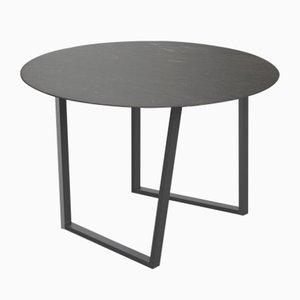 Tavolo da pranzo Dritto in pietra d'Avola di Piero Lissoni per Salvatori