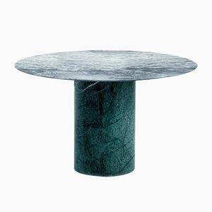 Table Basse Proiezioni en Marbre Cipolin et Vert des Alpes par Elisa Ossino pour Salvatori