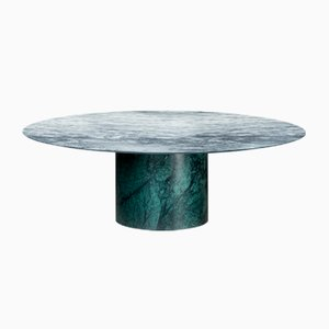 Verde Alpi & Cipollino Marble Proiezioni Coffee Table by Elisa Ossino for Salvatori