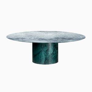 Verde Alpi & Cipollino Marble Proiezioni Coffee Table by Elisa Ossino for Salvatori