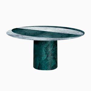 Verde Alpi/Cipollino Proiezioni Dining Table by Elisa Ossino for Salvatori