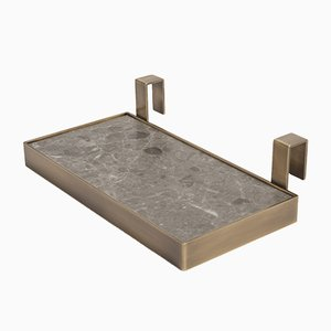 Grigio Versilia Tabl-eau Tray by Silvia Fanticelli for Salvatori