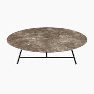 Levigato Gris du Marais W Coffee Table by David Lopez Quincoces for Salvatori