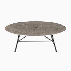 Tavolino W Levigato in gris du Marais