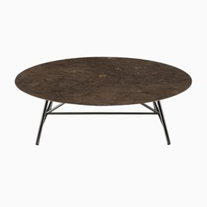 Pietra d'Avola W Coffee Table by David Lopez Quincoces for Salvatori