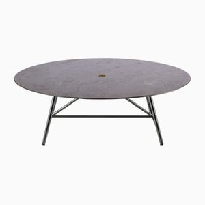 Table Basse W Pietra d'Avola par David Lopez Quincoces pour Salvatori