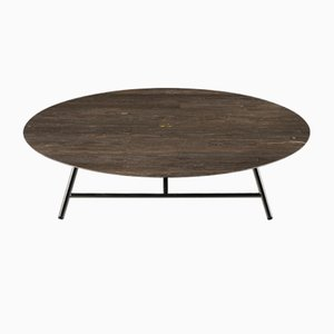 Table Basse W Lithoverde Pietra d'Avola par David Lopez Quincoces pour Salvatori