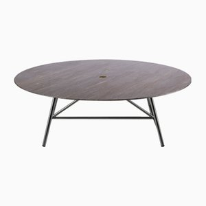 Lithoverde Pietra d'Avola W Coffee Table by David Lopez Quincoces for Salvatori